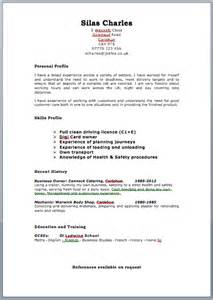 Best Resume Template Uk by Cv Template Uk Http Webdesign14 Com