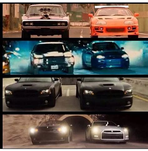 fast and furious years dom and brian s cars over the years 2001 2013 fast