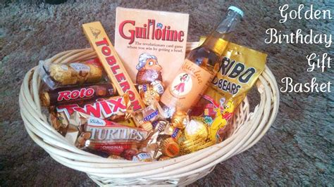 Ee  Golden Ee    Ee  Birthday Ee    Ee  Gift Ee   Basket Idea Gifts Worth Giving