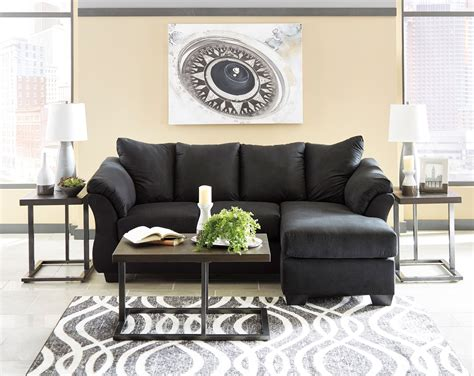 furniture darcy sofa chaise darcy black sofa chaise chaise kimbrells furniture
