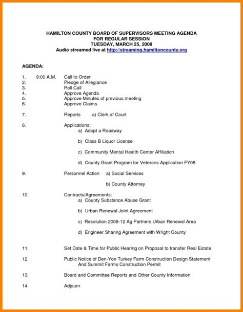 Nonprofit Board Meeting Agenda Template 2018 World Of Reference Non Profit Board Manual Templates