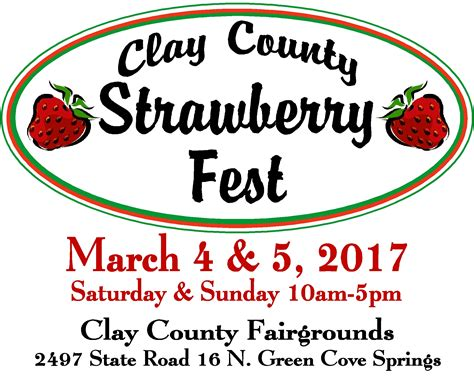 Records Clay County Fl Clay County Strawberry Edible Northeast Florida