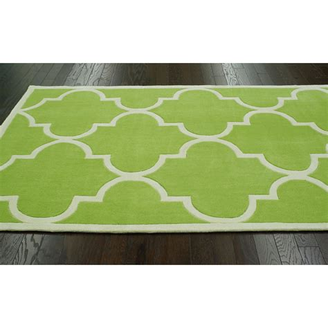 green rug nuloom trellis green area rug reviews wayfair