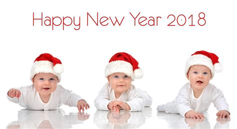 happy baby new year 40 baby happy new year 2018 pics small babies images