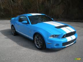Ford Grabber Blue 2011 Grabber Blue Ford Mustang Shelby Gt500 Coupe