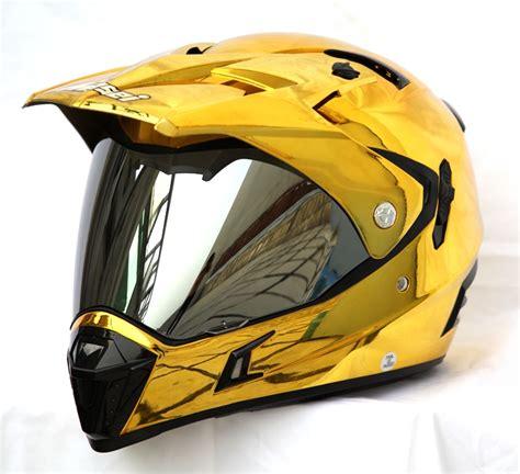 ktm motocross helmets masei gold chrome 311 atv motocross motorcycle icon ktm helmet