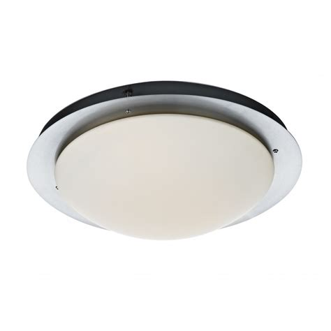 large circular light for low ceilings that fits flush