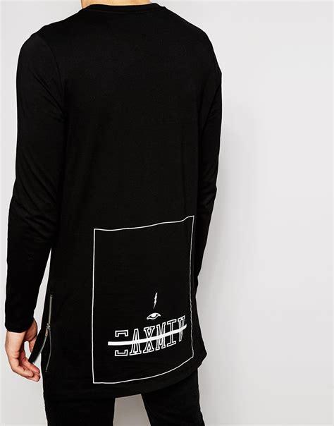 Back Print Sleeve T Shirt black sleeve shirt back www pixshark images