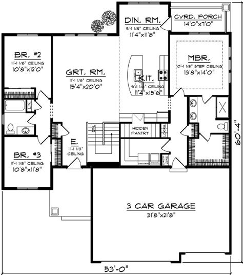 garage house floor plans 1000 ideas about floor plans on house floor