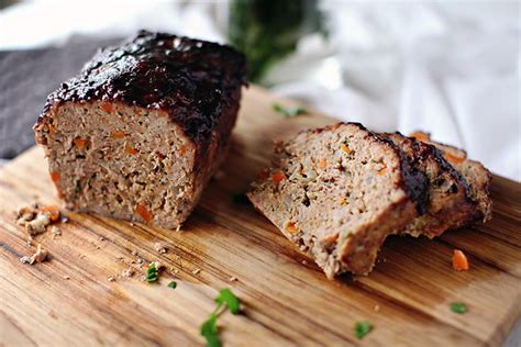 meatloaf temp when done loaf with sweet spicy wine glaze thyme temp