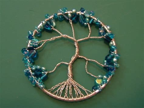 how to make tree of jewelry wire wrapped tree of ornament 183 how to make a wire