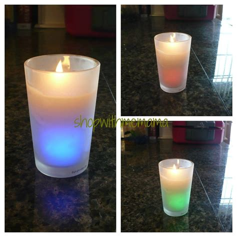 color changing candle air wick color changing candle shop with me