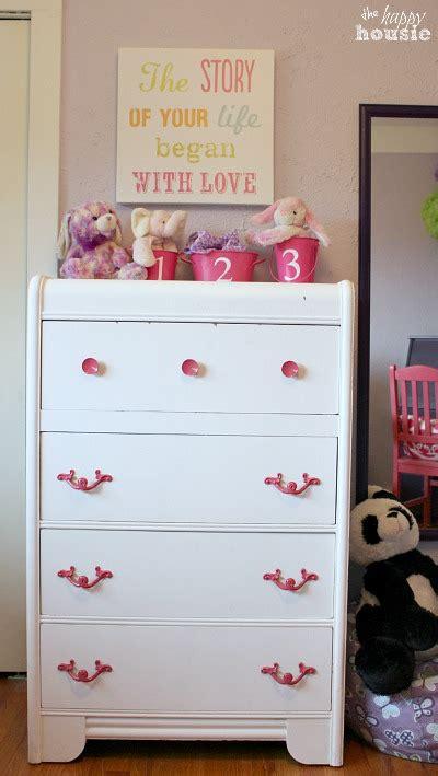 girls bedroom dressers little turning big girl bedroom reveal