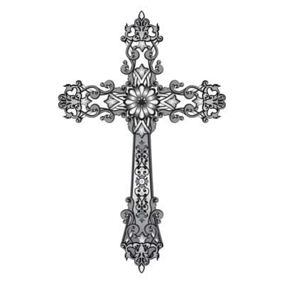 black and white cross tattoo free religious cross clip free clipart downloads