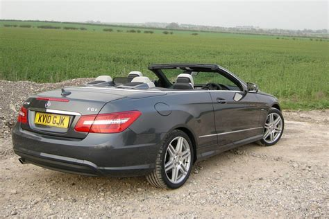Cabrio Top 250 Gram Mercedes E250 Cgi Cabrio Review Evo