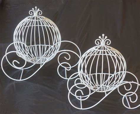 the gallery for gt wire cinderella carriage centerpieces