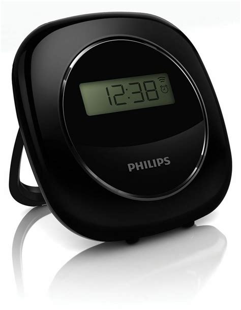 philips shake and vibrating alarm clock with 2 levels vibration tcj330 ebay