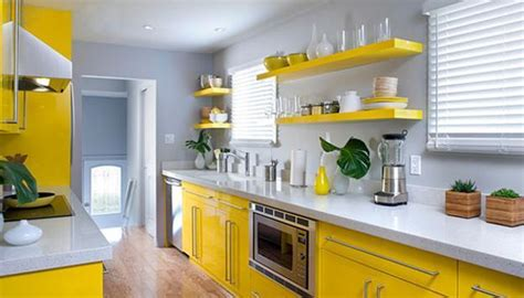 yellow kitchen color schemes yellow kitchen colors 22 bright modern kitchen design and