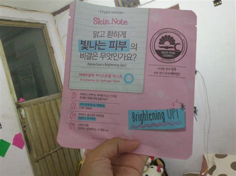 Masker Etude House by annisya review etude house skin note