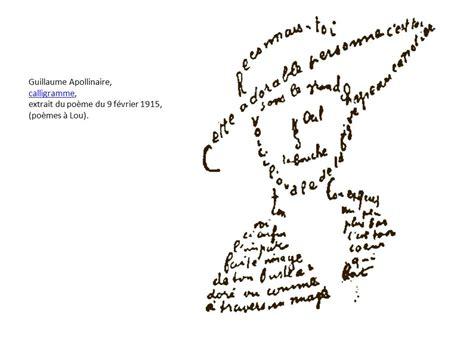 calligrammes by guillaume apollinaire apollinaire pr 233 curseur de cendrars ppt video online