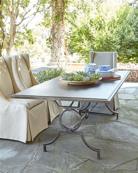 camille outdoor dining table outdoor upholstered chair