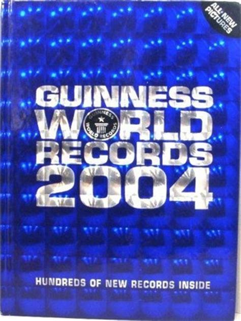 guinness world recordstm eyes release of upcoming quot book review guinness world records 2004 by guinness world records mboten