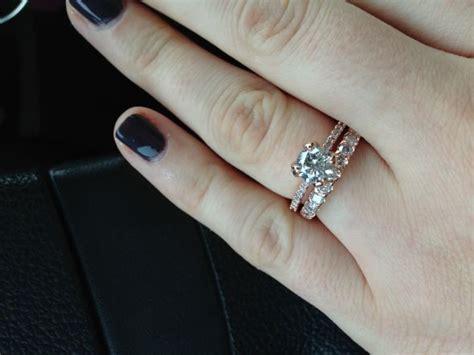 thicker wedding band than engagement ring resizing