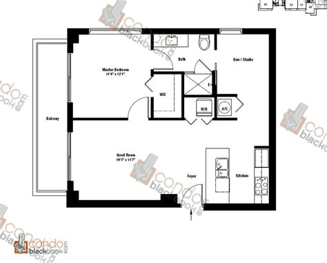 gallery floor plans gallery site plan and floor plans in downtown miami miami