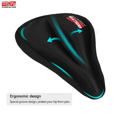 Silicone Bike Saddle Cover buy arltb bicycle seat cover silicone gel pad seat saddle