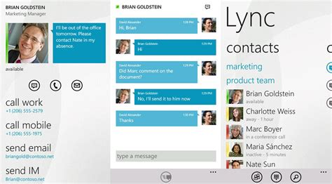lync mobile app lync mobile for windows phone shows up in marketplace but