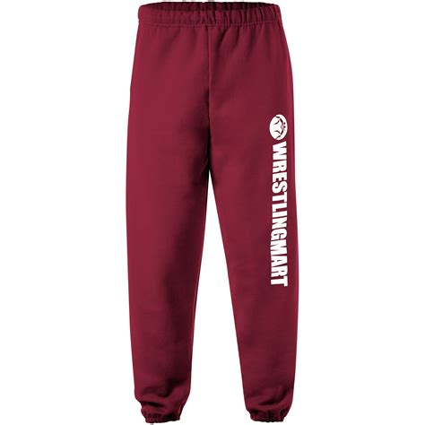 Sweat Pant 34 Maroon the comfort of sweat