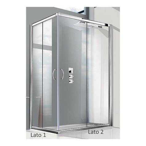 giava box doccia cabina doccia box doccia angolare cristallo 6 mm giava tonga