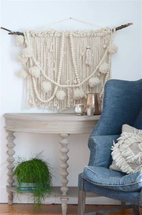 nesting place decorating blog make a diy wall hanging starting with a mop nesting