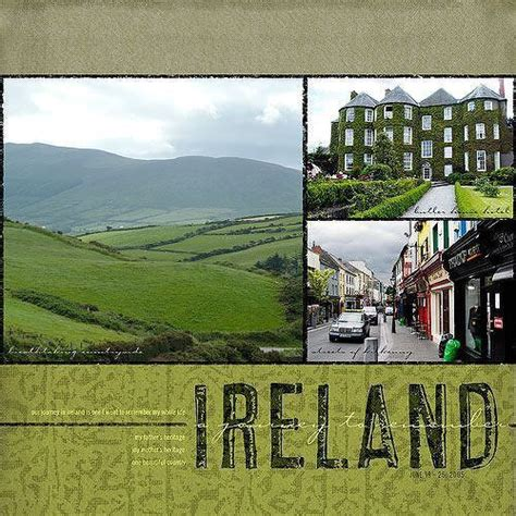 ireland vacation ideas ireland two peas in a bucket scrapbooking pinterest