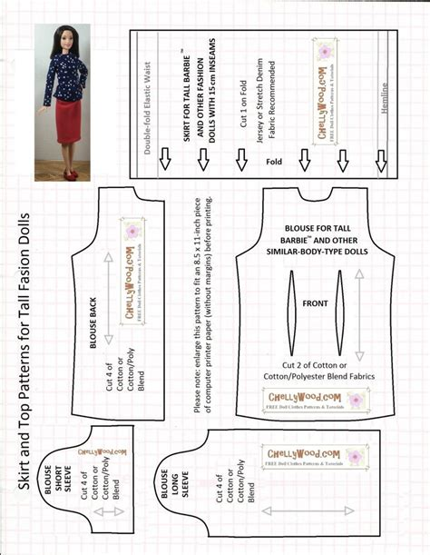 sewing pattern grandad shirt 488 best images about barbie patterns and tutorials on