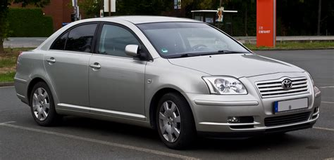 toyota avensis file toyota avensis ii frontansicht 1 september 2013