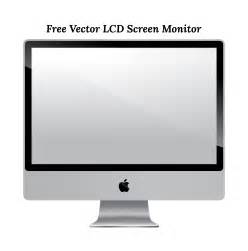 free vector apple lcd monitor screen download in ai