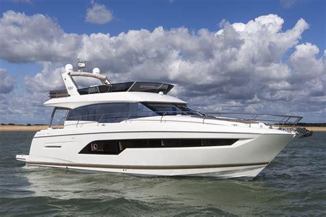 boat show 2017 sneak peak of the new prestige 630 at the london boat show