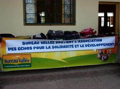 bureau valle s investit pour l association les echos pour
