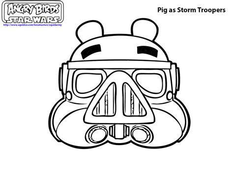 angry birds star wars coloring pages squid army