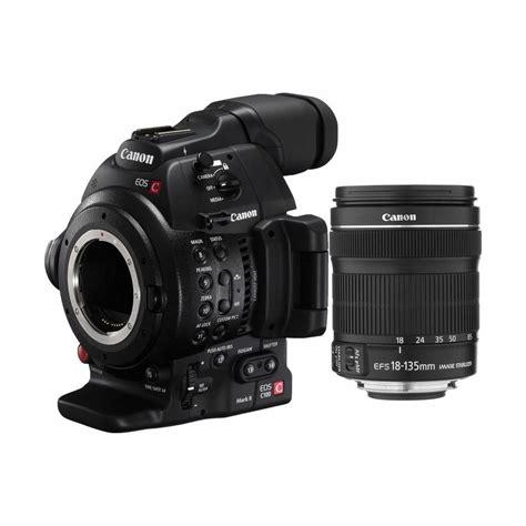 Kamera Canon Eos C100 Ii Canon Eos C100 Ii 18 135 Kit Cinema Profesionalna