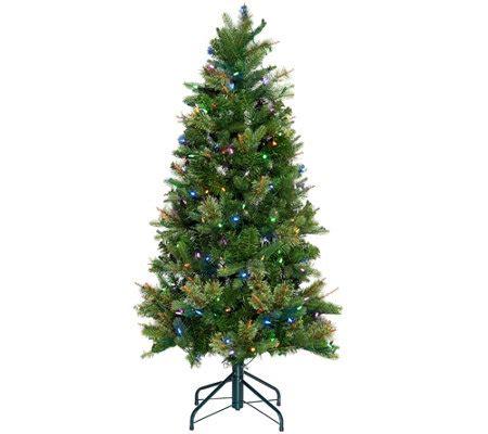 ellen degeneris christmas trees ed on air santa s best 5 bristol pine mix tree by degeneres page 1 qvc