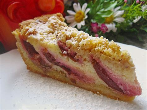kuchen mit pflaumen pflaumen quark kuchen rezept mit bild apfelzweig