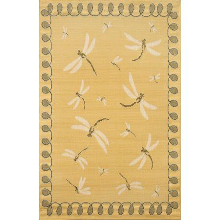 dragonfly outdoor rug trans import co terrace dragonfly indoor outdoor