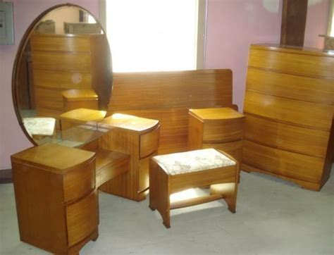 blonde bedroom furniture art deco mid century modern bedroom set blonde