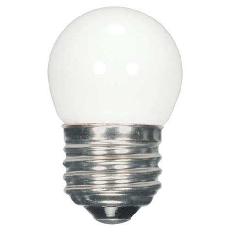 Satco Led Ls by Satco S9161 6 94 1 2w S11 Wh Led 120v Cd 1 2w Led S11 Sign Specialty Lightbulb 2700k White