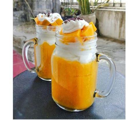 yuk membuat king mango thai resep jus mangga kekinian