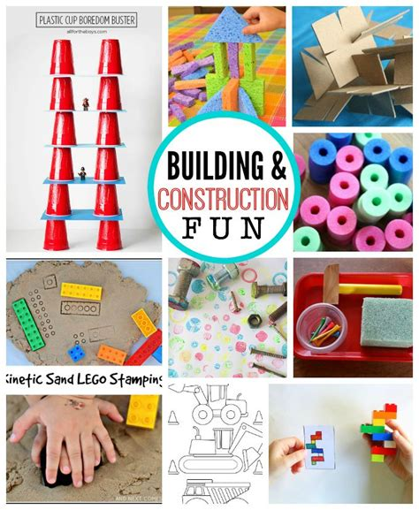 themes ideas for summer c fun with kids building and construction construction