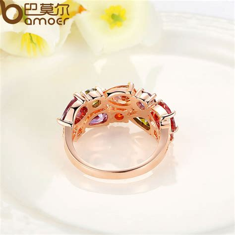 Cubic Monalisa colorful cubic mona ring lizeth s