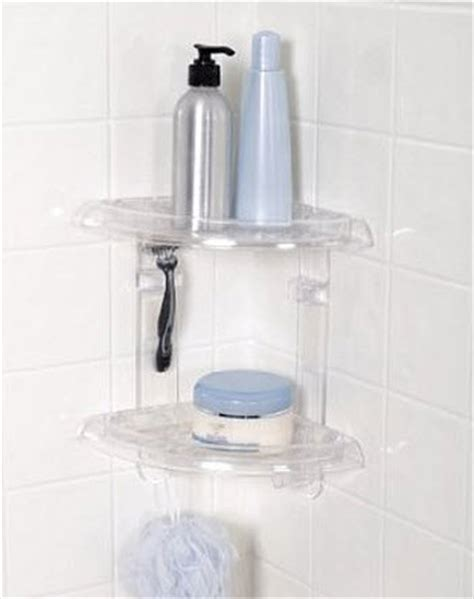 Plastic Shower Corner Shelf by Plastic Corner Shower Shelves Choozone
